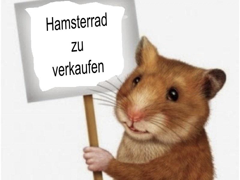 Hamsterrad zu verkaufen